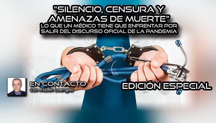 silencio, censura y amenazas
