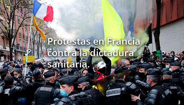 protestas en francia